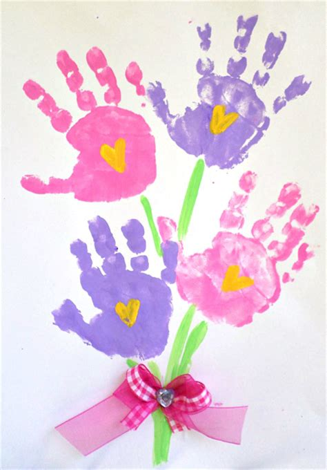 mothers day craft printable handprint s day poem crafty morning