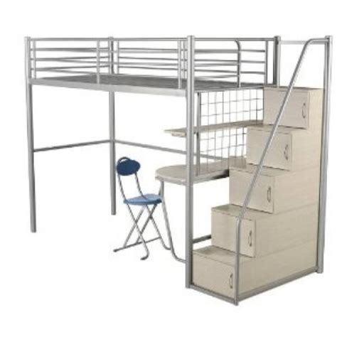 metal bunk beds with storage norwich stair way storage metal bunk bed