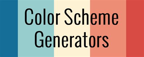 Earth Tone Color Wheel 7 color scheme generators to help pick the perfect palette