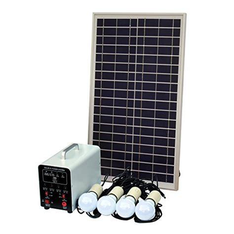 solar led lighting system 25w grid solar lighting system with 4 x 5w led lights