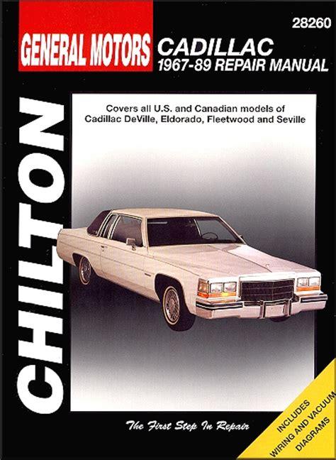 car repair manual download 2004 cadillac seville parental controls cadillac auto repair manuals by chilton haynes clymer autos post