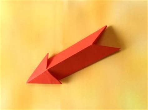 how to make a origami bow and arrow joost langeveld origami page