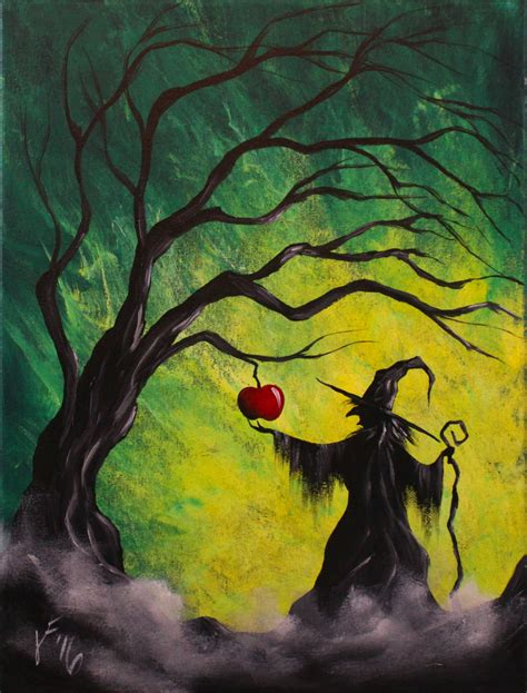 acrylic painting free enchanted apple step by step acrylic painting on canvas