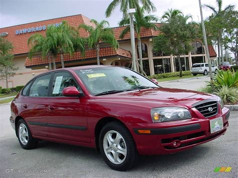 2005 Hyundai Elantra Gt by 2005 Electric Metallic Hyundai Elantra Gt Hatchback