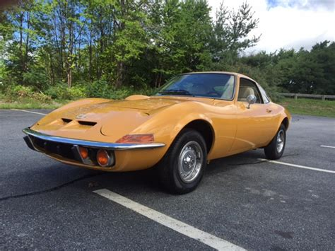 1972 Opel Gt For Sale 1972 opel gt for sale classiccars cc 898505