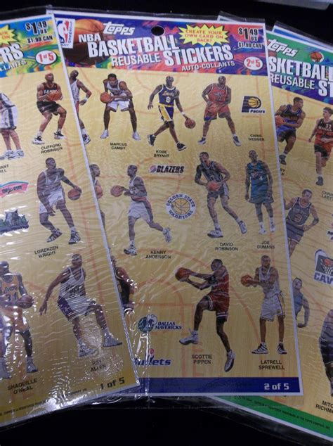 make your own basketball card lot detail 1997 topps reusable create your own card