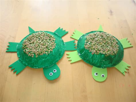 turtle paper craft play and learn with paper bowl turtle
