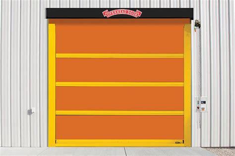 high speed garage door high speed fabric doors 993