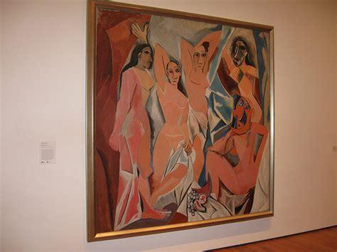 picasso paintings les demoiselles picasso les demoiselles d avignon moma flickr photo