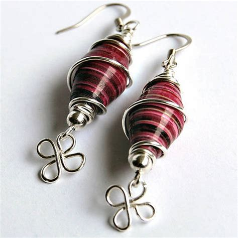 how to make metal st jewelry more paper bead earrings my necklace d