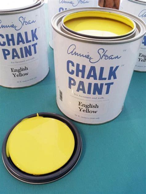 chalk paint på tyg de 25 bedste id 233 er inden for yellow chalk paint p 229