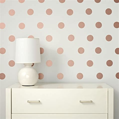 gold dot wall decals lottie dot gold decals the land of nod