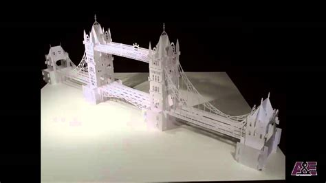 how do you make a card tower tower bridge origamic architecture