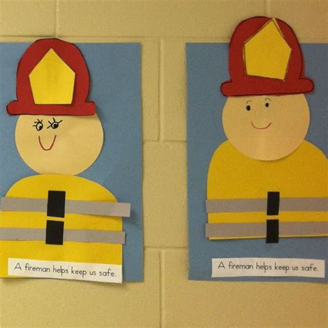 firefighter crafts for using this one for our october community appreciation to