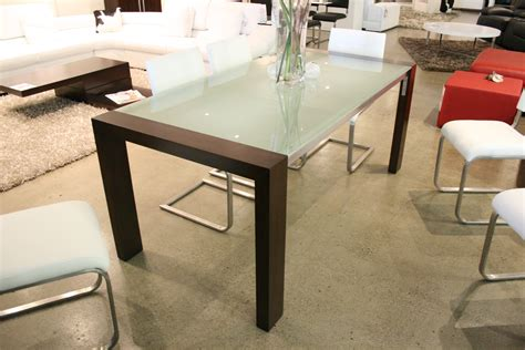 glass top dining room table sets modern glass top dining table brucall