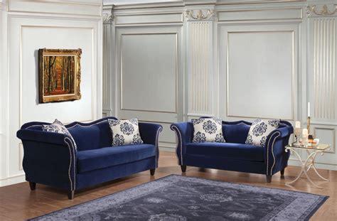 royal furniture living room sets zaffiro royal blue living room set sm2231 sf furniture