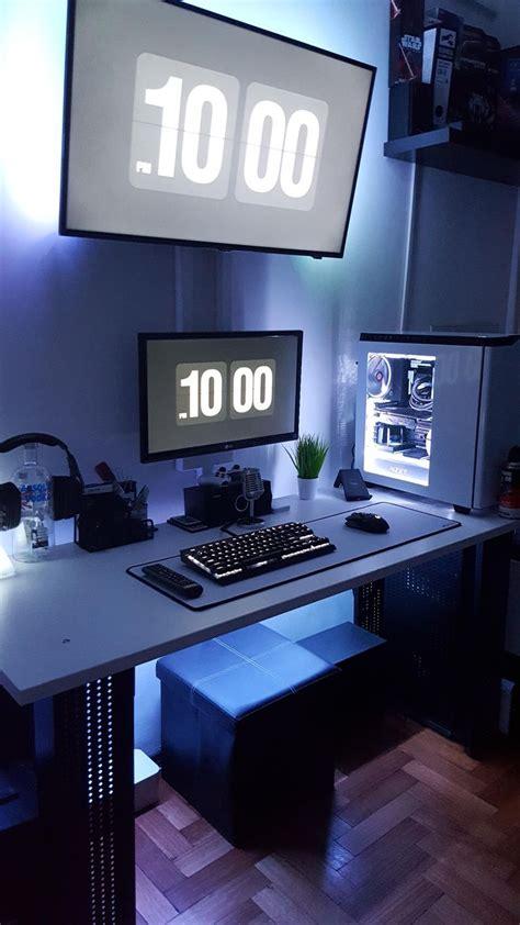 office desk setup ideas best 25 desk setup ideas on pc setup desktop