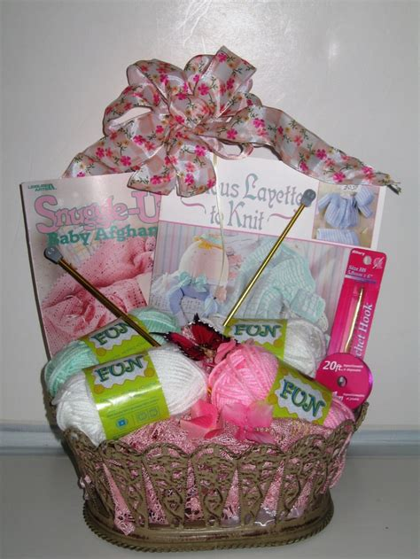 knitting gift ideas knitting gift basket devan s for keepsakes