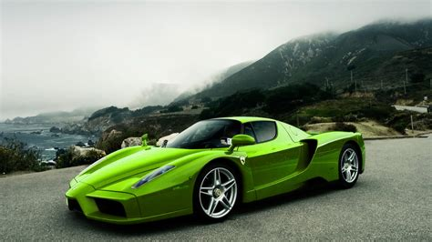Car Wallpaper Green by Green Skins Backgrounds