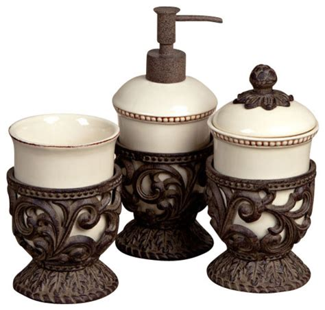 bathroom accessories vanity sets