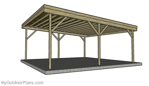 Carport Plans by Building A Carport Plans How To Build A Carport