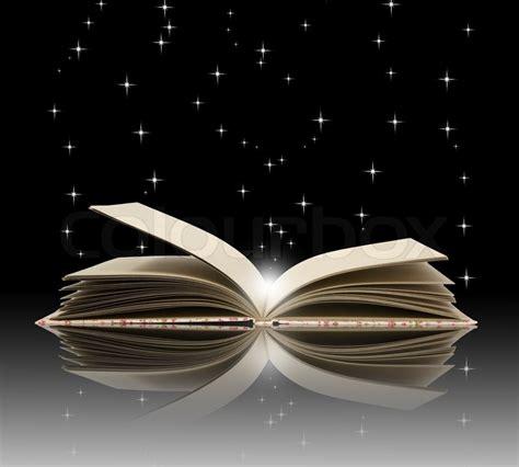concept picture books open book magic education concept stock photo colourbox