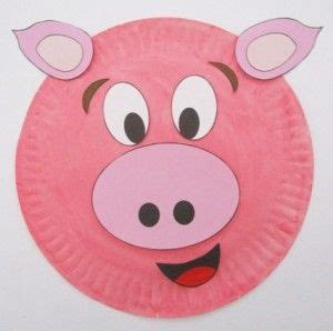 pig paper plate craft 25 best ideas about pig crafts on farm animal