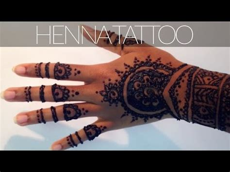 henna tattoo tutorial plus tips amp tricks for a dark