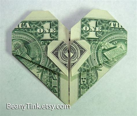 easy dollar bill origami origami money hearts 171 embroidery origami
