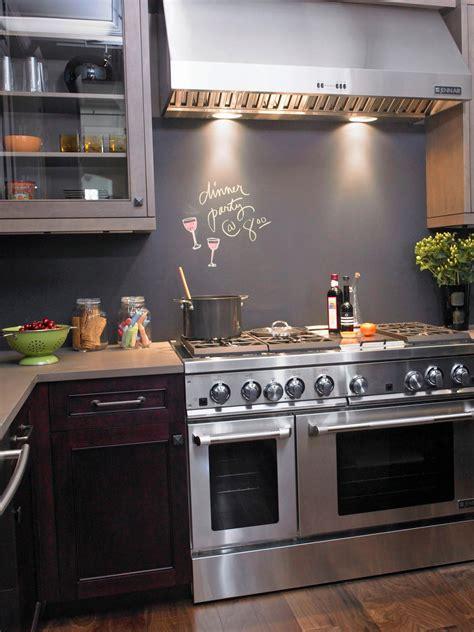 chalkboard paint backsplash 30 trendiest kitchen backsplash materials kitchen ideas