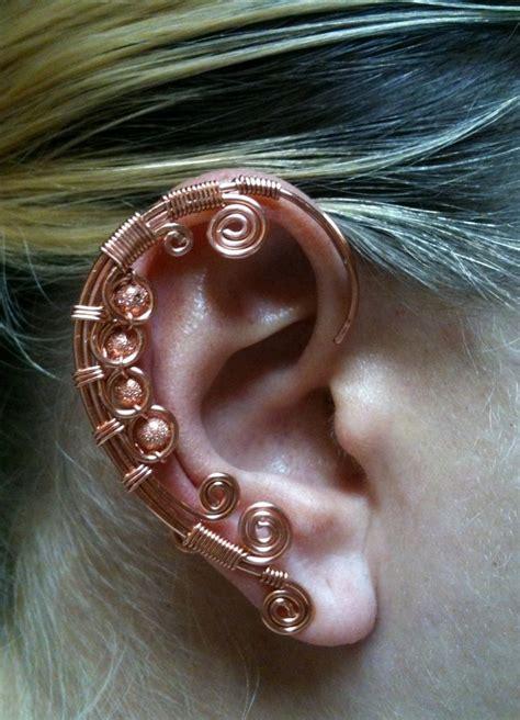 how to make ear wrap jewelry copper ear wrap by bendntheroad on deviantart