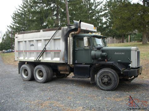Car Dump by 972 Autocar Dump Truck