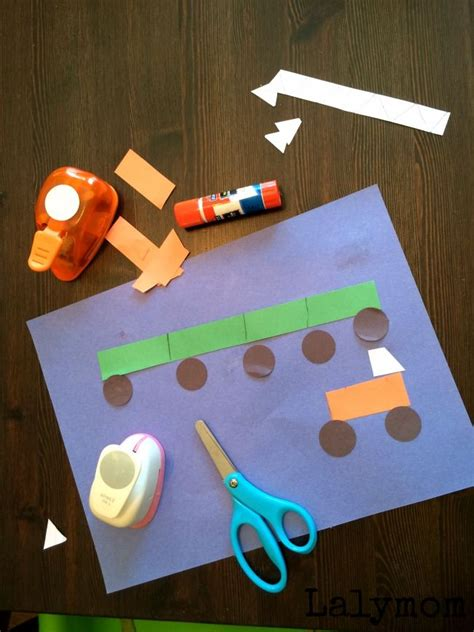 toddler crafts with construction paper 120 best images about construction site and truck crafts