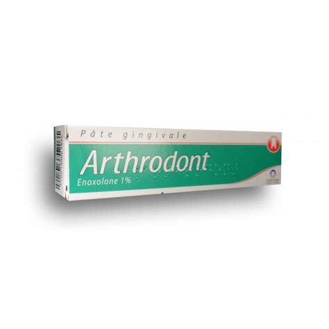 arthrodont p 226 te gingivale dentifrice
