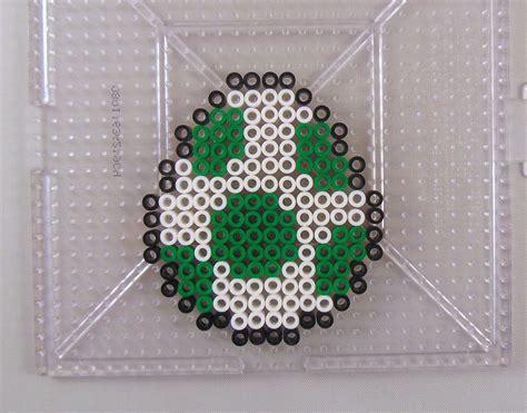 easy perler yoshi egg perler bead pattern krysanthe