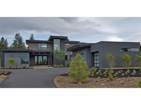 modern homes plans home plan homepw77750 3712 square foot 4 bedroom 3
