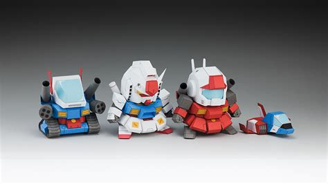 paper craft gundam papercraft