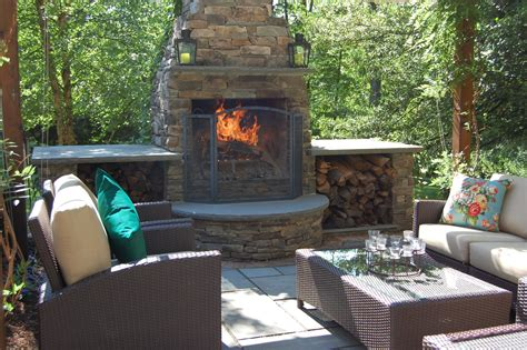 outdoor fireplace outdoor fireplace vs pit
