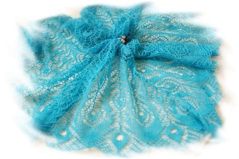 peacock knitting pattern knitting peacock feathers shawl make handmade crochet