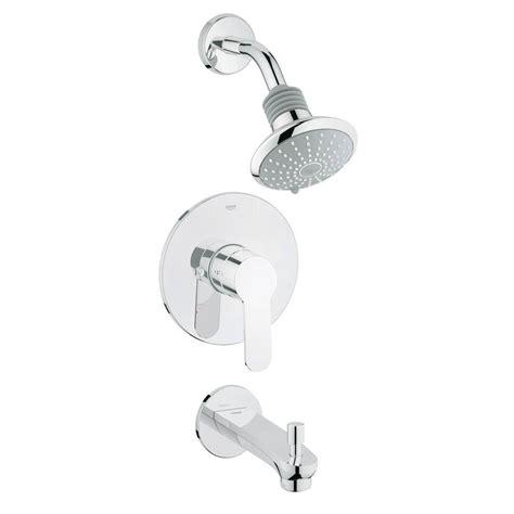 Keyhole Shower Bath grohe eurostyle cosmopolitan 2 spray showerhead and tub