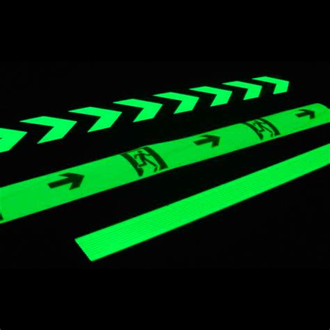 glow in the paint safety photoluminescent glow in the stick on safety