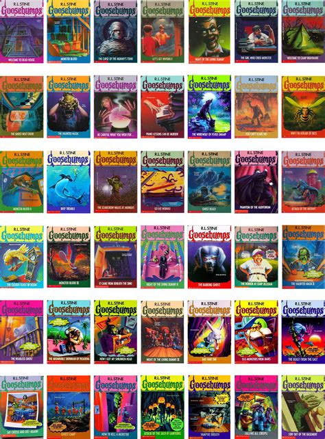 list of goosebumps books with pictures goosebumps book series by r l stine i was so hooked on