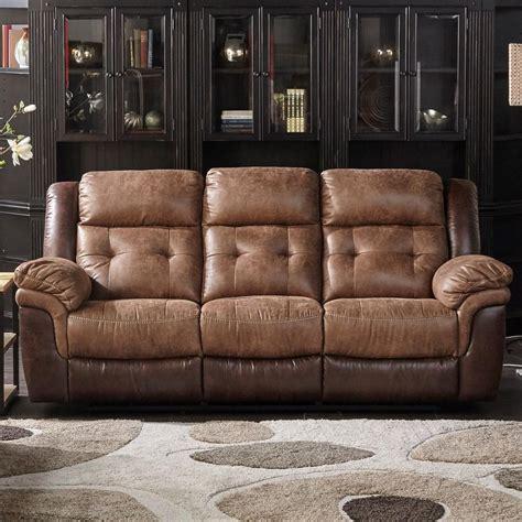 two tone reclining sofa cheers sofa houston dual two tone reclining sofa great