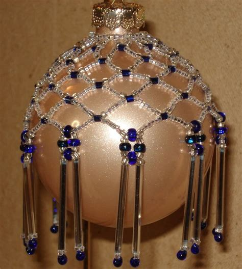 beaded ornament cover patterns free beaded ornaments free patterns
