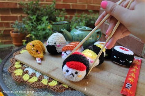 amigurumi food amigurumi food sushi amigurumi food