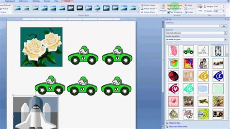 how to use clip art in MS Word 2007 - YouTube Word 2007 Clipart Not Working