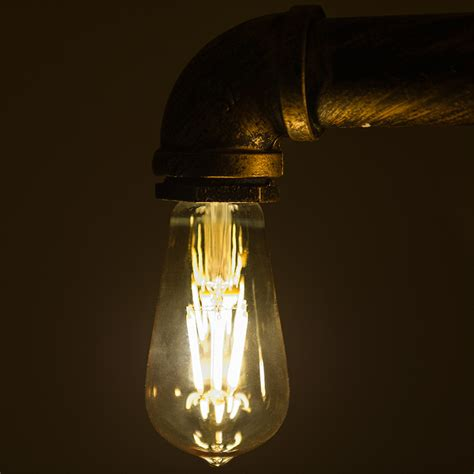 antique light bulbs st18 led filament bulb gold tint vintage light bulb 35