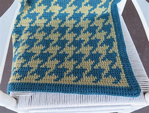 how to knit houndstooth cozy houndstooth afghan knitting patterns and crochet