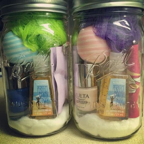 gifts with jars 25 best ideas about spa gift baskets on spa