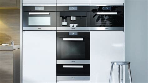 Kitchen Appliance Design miele baking and steam cooking
